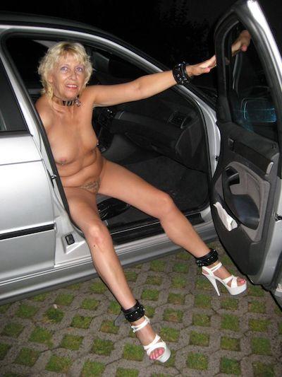 Reife Frau aus Kiel sucht Mann für Parkplatz-Sex