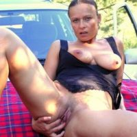 Reife Frau sucht Parkplatzsex in Gera