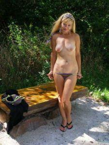 MILF sucht Jungschwanz für Outdoor Sex Treffen